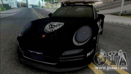 Porsche 911 Turbo 2014 Police para GTA San Andreas