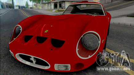 Ferrari 250 GTO 1962 [IVF ADB VehFuncs] para GTA San Andreas