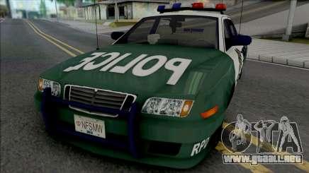 Police Civic Cruiser para GTA San Andreas