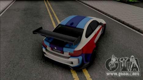 BMW M2 Special Edition 2018 para GTA San Andreas