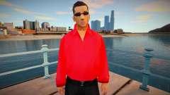 Vuzy en una camisa roja para GTA San Andreas