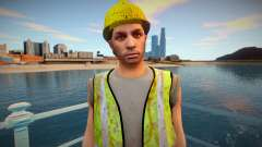 GTA Online Skin Construction Workers v1 para GTA San Andreas