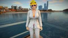Dead Or Alive 5 - Christie (Costume 2) v4 para GTA San Andreas