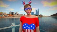Style girl USA para GTA San Andreas
