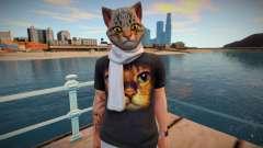 Man cat from GTA Online para GTA San Andreas