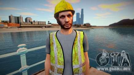 GTA Online Skin Construction Workers v2 para GTA San Andreas