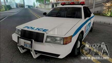 Vapid Stanier LCPD [SA Style] para GTA San Andreas
