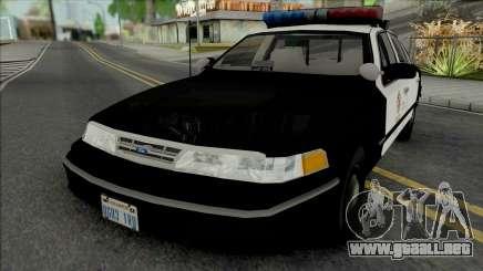 Ford Crown Victoria 1995 CVPI LAPD para GTA San Andreas