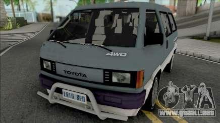 Toyota Lite Ace para GTA San Andreas