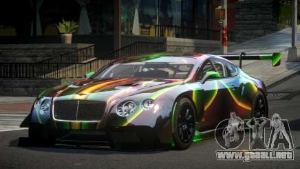Bentley Continental SP S1 para GTA 4