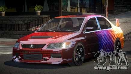 Mitsubishi Evo IX BS-U S5 para GTA 4