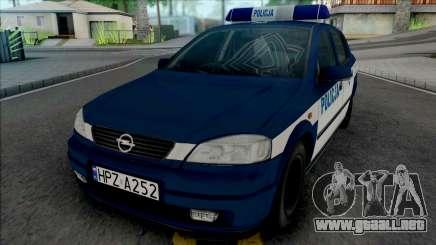 Opel Astra G Policya KSP para GTA San Andreas