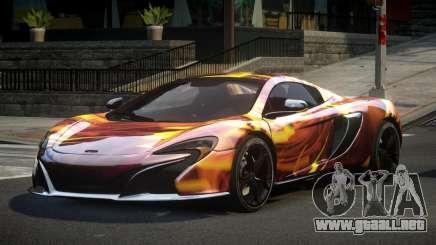 McLaren 650S BS S1 para GTA 4