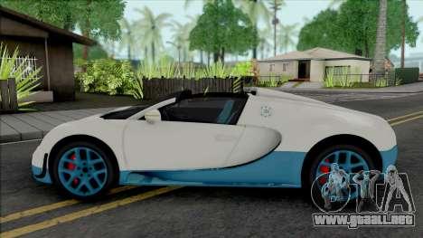 Bugatti Veyron Grand Sport Vitesse 2012 para GTA San Andreas