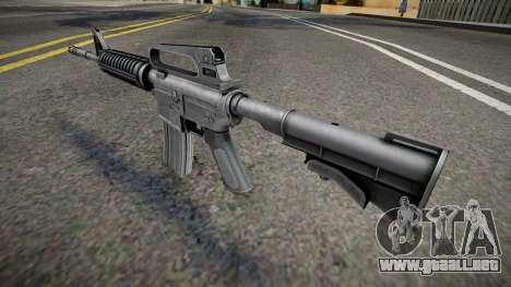 Remastered M4 para GTA San Andreas