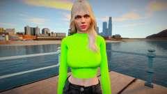 Rachel Casual skin para GTA San Andreas