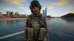 Call Of Duty Modern Warfare skin 4 para GTA San Andreas
