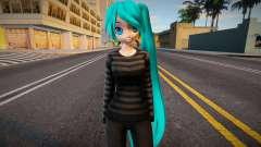 PDFT Hatsune Miku Cute outfit para GTA San Andreas