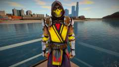 Scorpion MK11 from Mortal Kombat Mobile 1 para GTA San Andreas