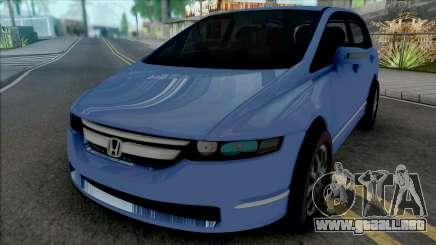 Honda Odyssey 2008 para GTA San Andreas