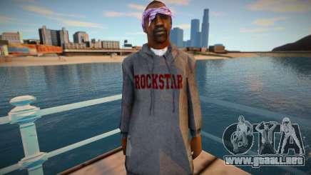 Ballas1 ROCKSTAR para GTA San Andreas