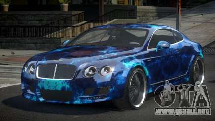 Bentley Continental ERS S9 para GTA 4