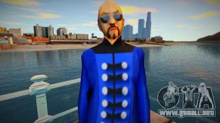Blue Lotus Gang 1 para GTA San Andreas