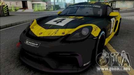 Porsche 718 Cayman GT4 Clubsport para GTA San Andreas