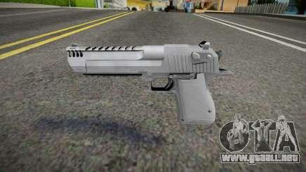 Remastered Desert Eagle para GTA San Andreas