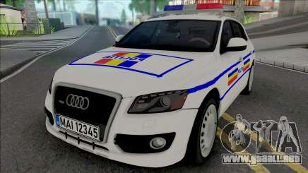 Audi Q5 2010 Politia Romana para GTA San Andreas