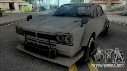 Nissan Skyline 2000 GT-R 1969 SpeedHunters para GTA San Andreas