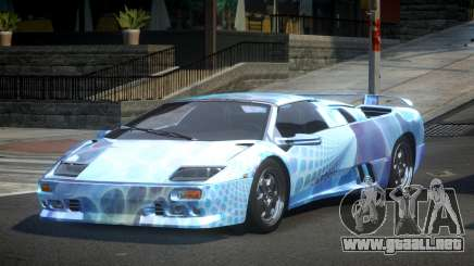 Lamborghini Diablo U-Style S8 para GTA 4
