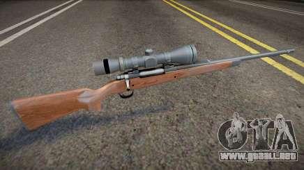 Remastered sniper para GTA San Andreas