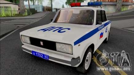 VAZ-2105 Policía para GTA San Andreas