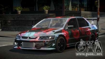 Mitsubishi Lancer Evolution VIII PSI S1 para GTA 4