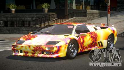 Lamborghini Diablo U-Style S7 para GTA 4