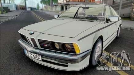 BMW M6 E24 White para GTA San Andreas