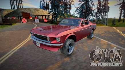 1969 Ford Mustang Boss 302 (good model) para GTA San Andreas