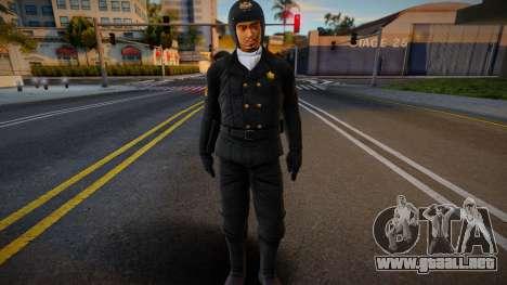 Lei Supercop no galsses para GTA San Andreas