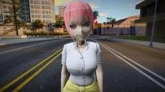 Nakano Ichika (School Outfit) para GTA San Andreas