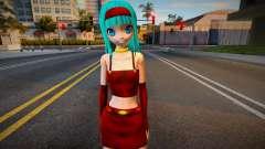 PDFT Hatsune Miku with Bura clothes from DBGT para GTA San Andreas