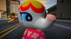 Margie - Animal Crossing Elephant para GTA San Andreas