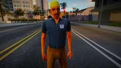 VCS Hispan Worker 3 para GTA San Andreas