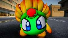 Burning Leo From Kirby Star Allies (green) para GTA San Andreas