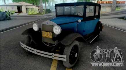 Ford Model A Standard Fordor 1930 [IVF] para GTA San Andreas