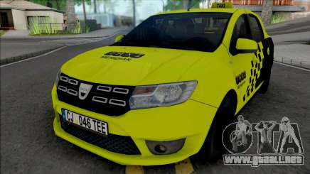 Dacia Logan 2020 Taxi para GTA San Andreas