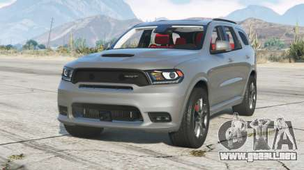 Dodge Durango SRT (WD) 2018〡add-on para GTA 5