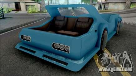 Dodge Deora 6x6 para GTA San Andreas
