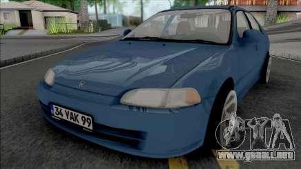 Honda Civic 1.6 Si para GTA San Andreas