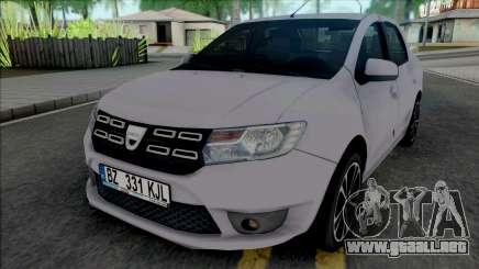Dacia Logan Mk2 2020 para GTA San Andreas